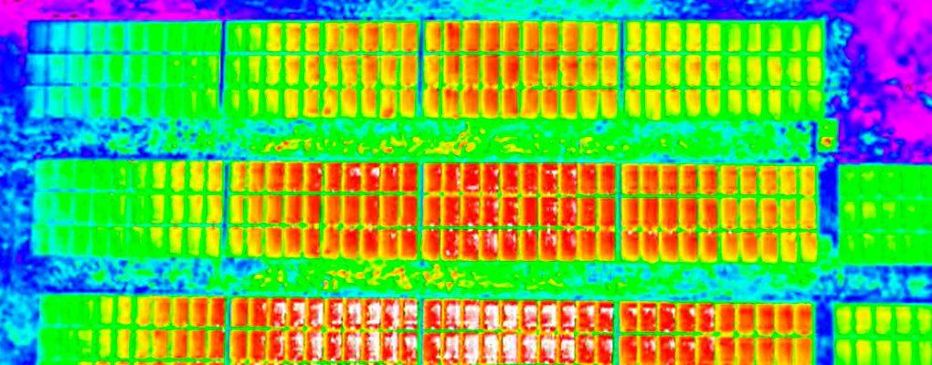 Inspección-Termográfica-Aérea-Paneles-Solares-Dron